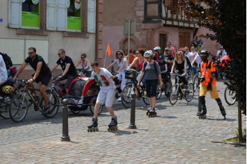 Slowup - Grand Rue de Bergheim